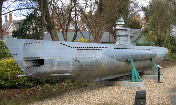 Biggest model sub I know and sits at Bletchley Park.